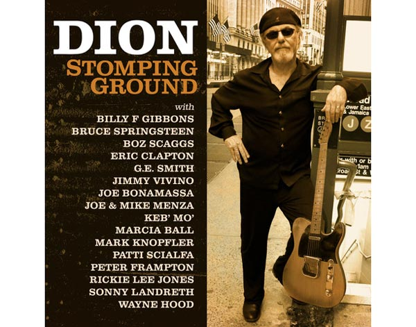 """Dion To Release """"Stomping Ground"""" On November 5th"""