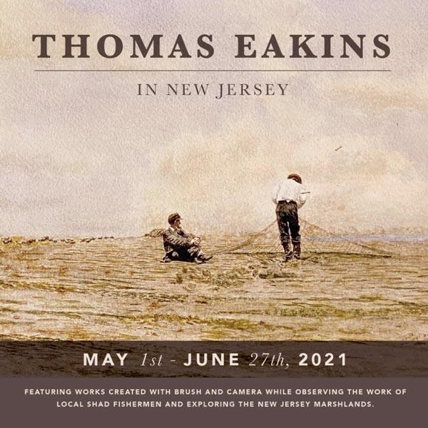 "John F. Peto Studio Museum presents ""Thomas Eakins In New Jersey"""
