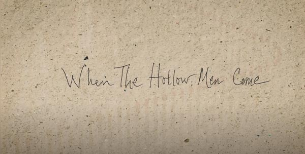 """""""When the Hollow Men Come"""" By Gabor Barabas Is Put To Music By Juan Delcan"""