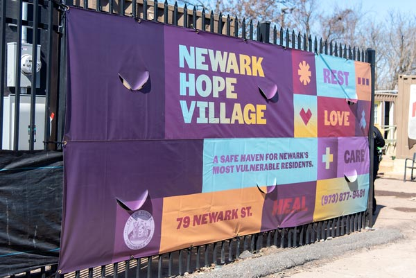 Newark Hope Village Debuts, A Program Using Converted Containers As Shelters