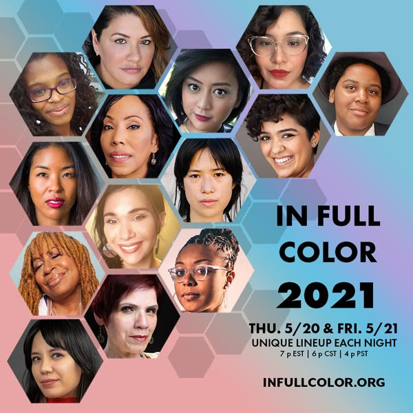 In Full Color 2021 Celebrates BIPOC Artists Across America May 20-21
