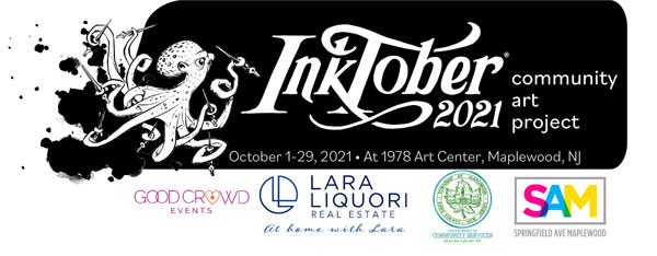 Inktober 2021 Community Art Project Returns to Maplewood this October