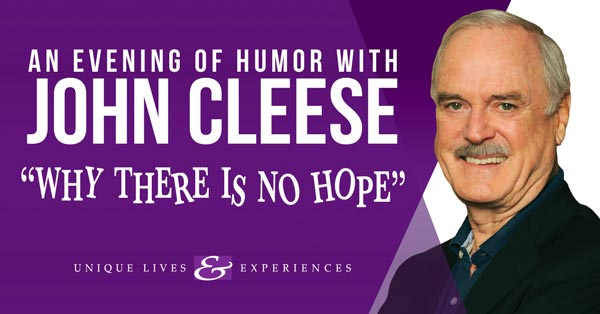 Count Basie Center presents An Evening of Humor with John Cleese