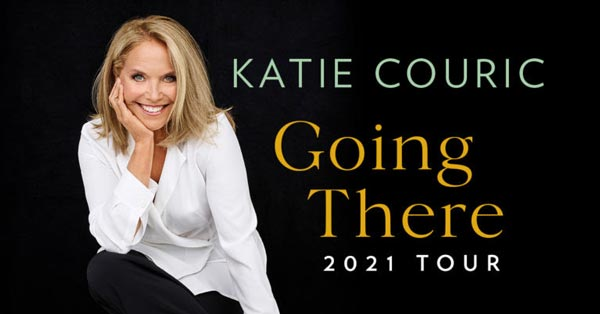 """Katie Couric Announces Book Tour For """"Going There"""""""