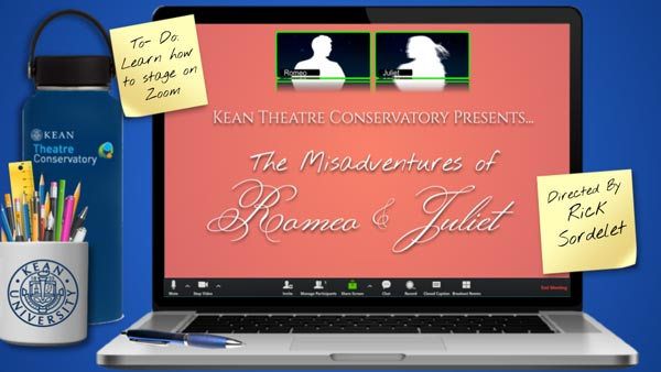 "Kean Theatre Conservatory presents ""The Misadventures of Romeo and Juliet"""