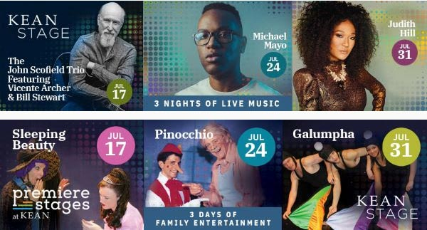 Kean Stage and Premiere Stages Present Outdoor Summer Concert and Family Series