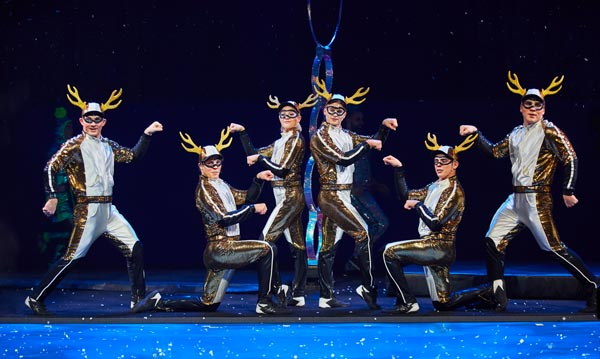 """""""'Twas the Night Before…"""" by Cirque du Soleil To Return To Hulu Theater at MSG"""
