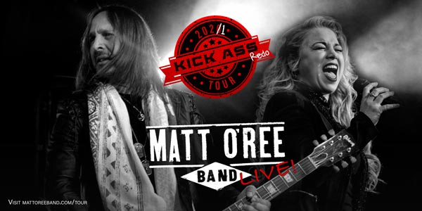 Matt O'Ree Band Begins 2021 Redo Tour Promoting New Singles