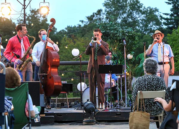 Jazz on the Back Deck Returns to the Morris Museum