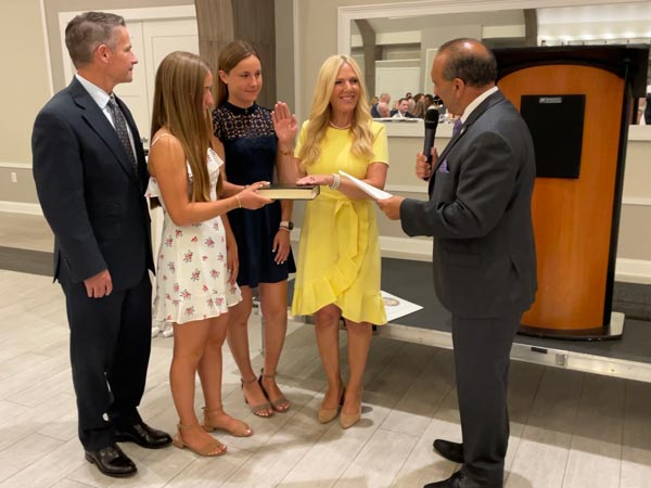 Monmouth County Clerk Hanlon Sworn in as President of Statewide Constitutional Officers Association