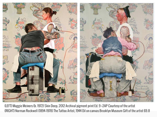 """Montclair Art Museum Presents """"Fragile Freedoms: Maggie Meiners Revisits Rockwell"""""""