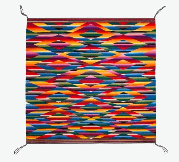 """Montclair Art Museum Presents """"Color Riot! How Color Changed Navajo Textiles"""""""