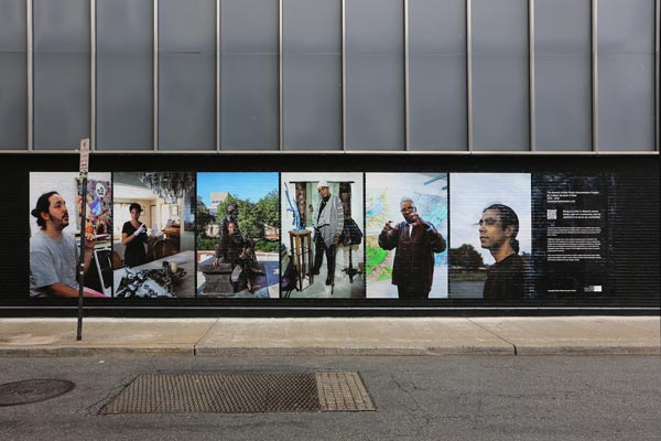 The Newark Artist Photo Documentary Project installs a permanent mural