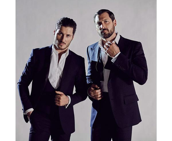 NJPAC Presents Maks and Val Live: Stripped Down Tour on August 10th