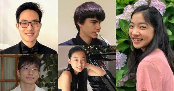 New Jersey Youth Symphony Presents 2021 Concerto Competition Winners Recital On March 26