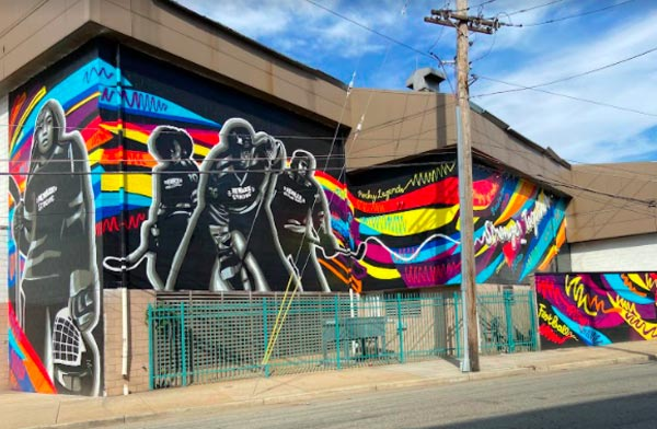 """P.K. Subban and Yasmin De Jesus Collaborate on """"Stronger Together"""" Mural in Newark, NJ"""