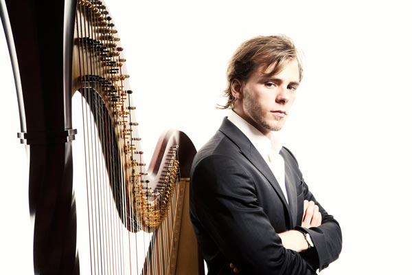 Star Harpist Alexander Boldachev Performs on PSO