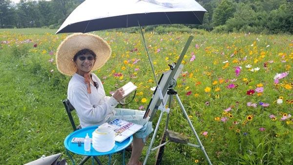 Reeves-Reed Arboretum Presents Artist Talks With Pamela Casper