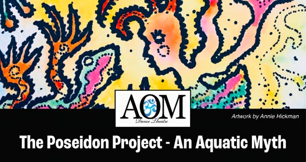 """""""The Poseidon Project – An Aquatic Myth"""" To Be Presented In Long Branch On August 10th"""