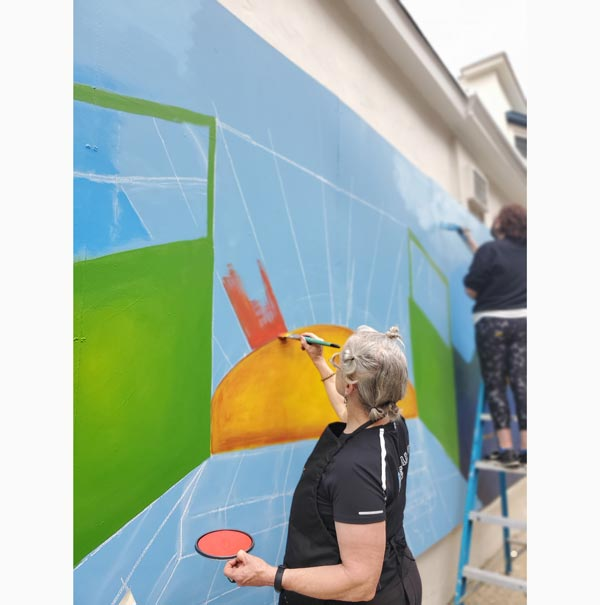 The Arts Council of Princeton partners with Princeton Shopping Center to Create Series of New Murals this Summer