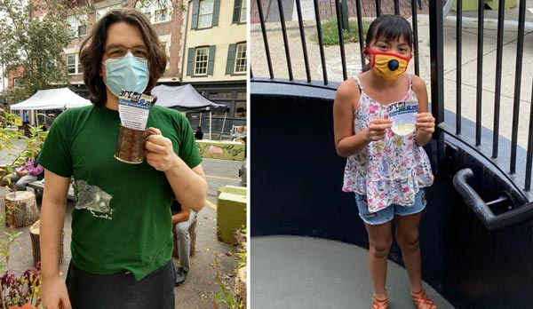Arts Council of Princeton Holds Ceramic Scavenger Hunt On Saturday