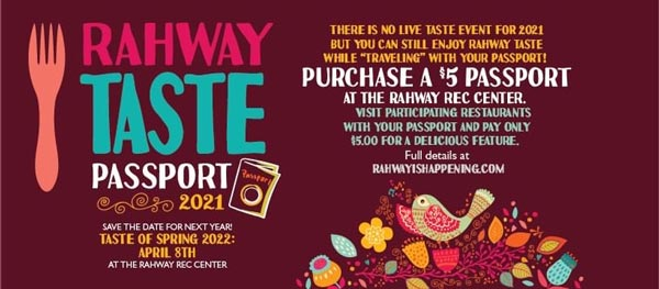 Rahway's Taste of Spring Runs Weekends From April 8th to May 2nd