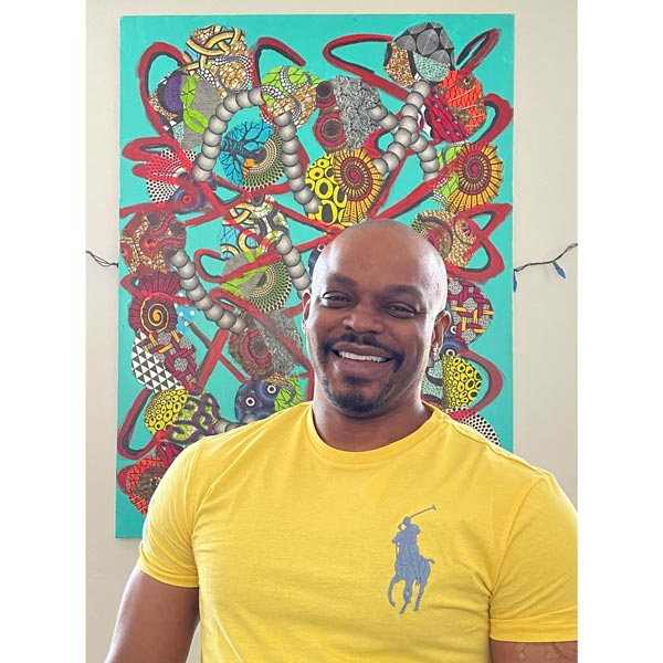 Curtis Grayson III Comments on Covid-19 and Social Justice In New Exhibit At Herb + Milly Iris Gallery