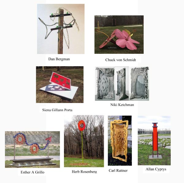 Sculpture for Leonia Hosts Two Events as Part of Creative Bergen's Arts Amble