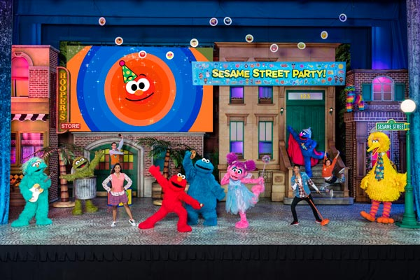 Sesame Street Live! Let's Party Comes To MSG In February