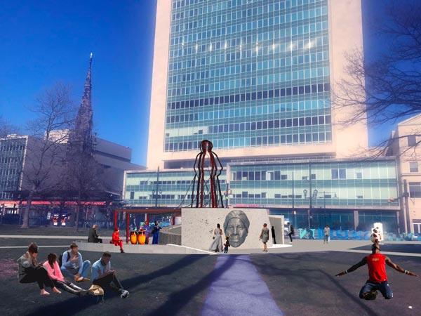 Nina Cooke John's Design Chosen For Harriet Tubman Monument In Newark