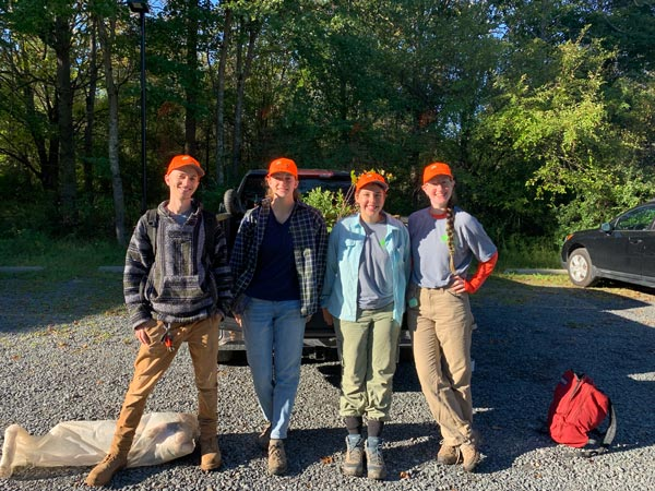 Budding Ecologists Plant 1000 Trees in the Sourlands