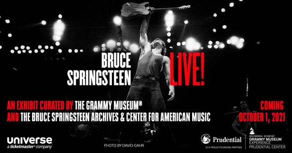 The GRAMMY Museum Experience (TM) Prudential Center Presents Bruce Springsteen Live!