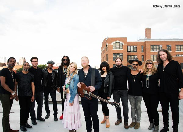 Tedeschi Trucks Band Announces 10th Anniversary Residency at The Beacon Theatre