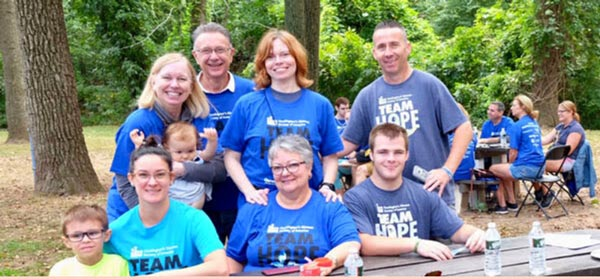 New Jersey Team Hope Walk To Support HDSA on October 2nd in Edison