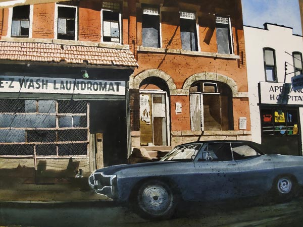 """The Trenton City Museum presents """"Trenton's Treasures: A Retrospective of Watercolors by Marge Chavooshian and Robert Sakson"""""""