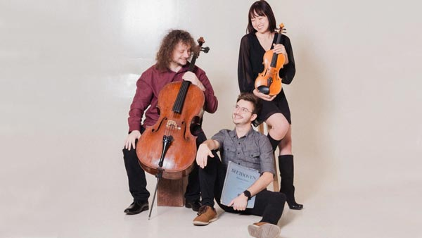 Trio Solace Gives Free Performance On Grunin Center Main Stage Tomorrow