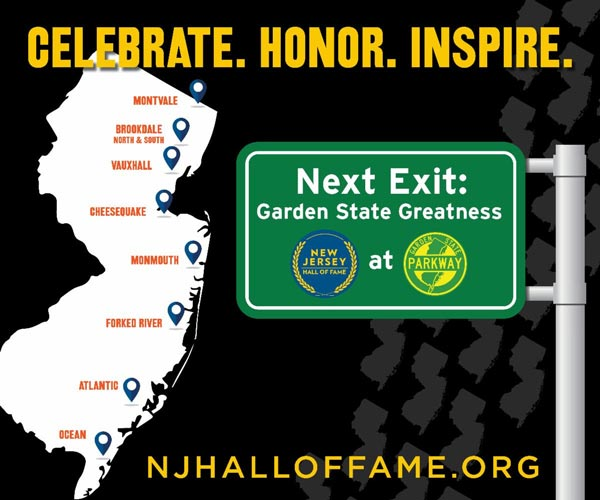 Nine Garden State Parkway Service Areas To Be Renamed After NJHOF Inductees