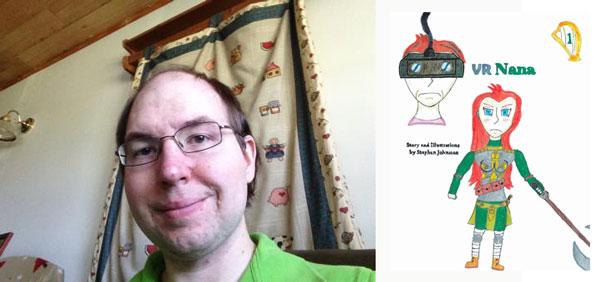 """Stephen Johnston Releases Debut Novel """"VR Nana - Volume 1"""""""