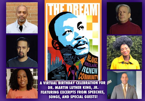 Lin-Manuel Miranda, Montclair Mayor Sean Spiller, Broadway Artists and More Join Vanguard Theater Company's Tribute to Dr. Martin Luther King, Jr.