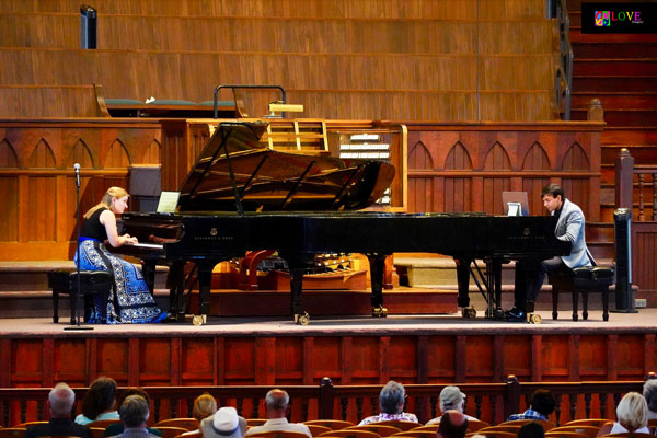 """""""Electric!"""" The Vieness Piano Duo LIVE! at the Great Auditorium"""
