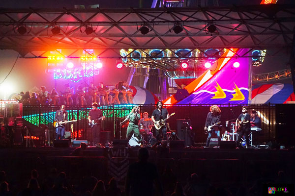 """""""I Wish They Would Have Played All Night Long!"""" Williams Honor LIVE! in Seaside Heights, NJ"""