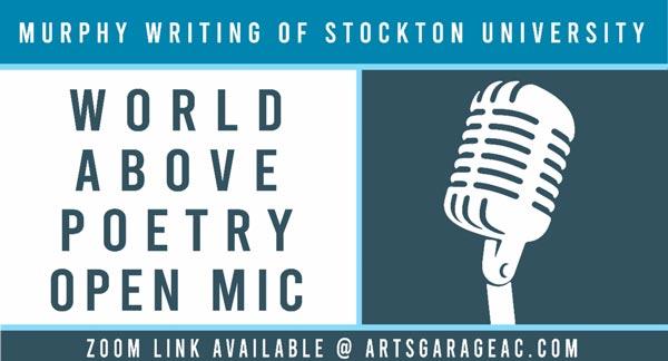 Noyes Arts Garage Hosts World Above: Poetry Open Mic on October 20
