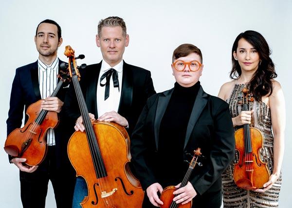Catalyst Quartet Returns To Morris Museum On May 16