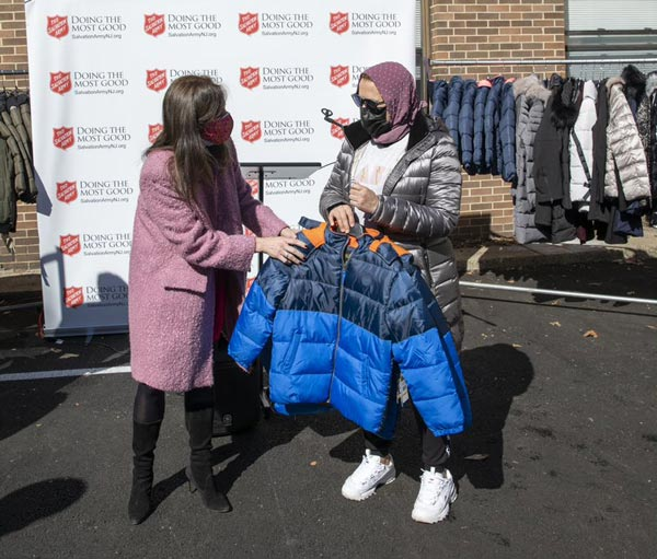 The Salvation Army receives generous donation of 3,000 brand new winter coats